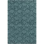 Aymond Hand-Tufted Teal/Turquoise Area Rug Rug Size: Rectangle 5' x 7'6