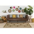 Levin Hand-Tufted Brown/Beige Area Rug Rug Size: Rectangle 5' x 7'6