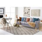 Juergens Hand-Tufted Taupe Area Rug Rug Size: Rectangle 8' x 10'