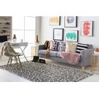 Ginter Hand-Tufted Gray Area Rug Rug Size: Rectangle 4' x 6'