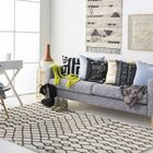Littrell Hand-Tufted Ivory Area Rug Rug Size: Rectangle 8' x 10'