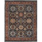 Easterling Navy/Rust Area Rug Rug Size: 2' x 3'