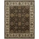 Victoire Chocolate/Beige Area Rug Rug Size: Rectangle 10' x 14'