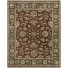 Grant Red Hand-Knotted Area Rug Rug Size: 8' x 10'