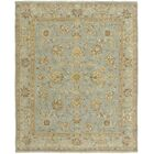 Grant Ice Blue Area Rug Rug Size: 2' x 3'