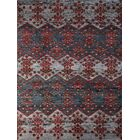 Pouncy Hand-Knotted Gray Area Rug Rug Size: 8' x 10'