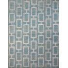 Defino Steel Blue Area Rug Rug Size: 3'6
