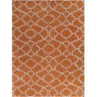 Kamena Hand-Tufted Orange Area Rug Rug Size: Rectangle 8'6