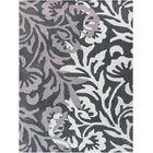 Crewe Hand-Tufted Black/Gray Area Rug Rug Size: Rectangle 7'6