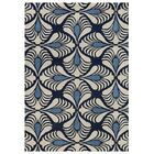 Weese Hand-Tufted Navy Area Rug Rug Size: Rectangle 5' x 8'