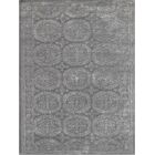 Zada Hand-Tufted Dove Gray Area Rug Rug Size: Rectangle 7'6