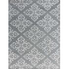 Zada Hand-Tufted Steel Blue Area Rug Rug Size: Rectangle 7'6