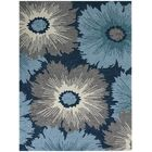 Arrellano Navy Indoor/Outdoor Area Rug Rug Size: Rectangle 8' x 11'