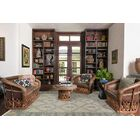 Earnshaw Hand-Knotted Gray Area Rug Rug Size: 8' x 10'