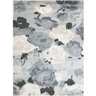 Piland Hand-Tufted Gray Area Rug Rug Size: 5' x 7'6