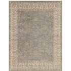 Zella Hand-Knotted Silver Area Rug Rug Size: Rectangle 10' x 14'