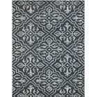 Collins Hand-Tufted Black Area Rug Rug Size: 5' x 8'