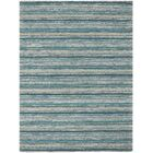 Brookes Hand-Tufted Teal Area Rug Rug Size: Rectangle 7'6