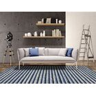 Brookes Hand-Tufted Blue Area Rug Rug Size: Rectangle 8' x 11'