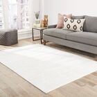 Sara Hand-Woven Bright White Area Rug Rug Size: Rectangle 9' x 12'