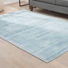 Sara Hand-Woven Blue Area Rug Rug Size: Rectangle 5' x 8'