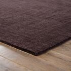 Constanz Hand-Loomed Wool Black Area Rug Rug Size: Rectangle 8' x 11'