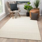 Quito Hand Woven White Area Rug Rug Size: Rectangle 9' x 12'