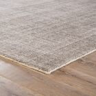 Lev Hand-Knotted Silver/Pink Area Rug Rug Size: Rectangle 8' x 11'