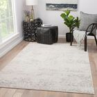 Cheyenne Power-Loomed Gray Area Rug Rug Size: Rectangle 5' x 7'6