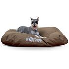 K-9 Ruff Classic Pillow Bed Color: Brown, Size: Large (38