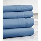 Celina Hotel 4 Piece 800 Thread Count 100% Cotton Sheet Set Size: Full, Color: Blue