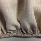 Linen Fitted Sheet Color: Natural Oatmeal, Size: Twin