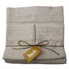 Linen Sheet Set Color: Natural Oatmeal, Size: Queen