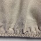 Belgian Eco-Linen Fitted Sheet Size: Extra-Long Twin, Color: Natural
