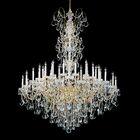 New Orleans 45-Light Chandelier Crystal Type: Swarovski Elements Clear, Finish: Heirloom Bronze