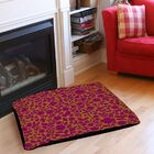 Ambrose Bird Pet Bed Color: Fuchsia, Size: 28