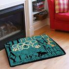 Dog Commands Indoor/Outdoor Pet Bed Size: 28