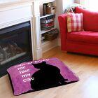 Nobody Loves Me Like My Cat Indoor/Outdoor Pet Bed Size: 28
