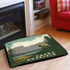 Rocky Mountain National Park Indoor/Outdoor Pet Bed Size: 50