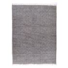 Slyvia Hand Knotted Cotton Gray Area Rug Rug Size: Rectangle 9' x 12'1