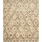 Pinehurst Contemporary Hand-Knotted Beige/Brown Area Rug Rug Size: Rectangle 4' x 6'