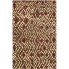 Pinehurst Hand-Knotted Brown/Gold Area Rug Rug Size: Rectangle 4' x 6'