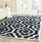 Wilkin Hand-Tufted Wool Area Rug Rug Size: Rectangle 8'9