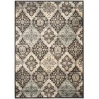 Mainville Runner Black/Ivory Area Rug Rug Size: Rectangle 9' x 12'