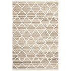 Natural Kilim Hand-Woven Light Gray/Ivory Area Rug Rug Size: Rectangle 5' x 8'
