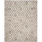 Mata Kilim Hand-Woven Ivory/Gray Area Rug Rug Size: Rectangle 4' x 6'