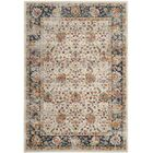 Grieve Cream/Navy Area Rug Rug Size: Rectangle 4' x 6'