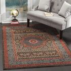 Freetown Red Area Rug Rug Size: Runner 2'2