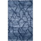 Tenth Avenue Dark Blue Area Rug Rug Size: Rectangle 8' x 10'