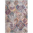 Lusulu Blue/Light Gray Area Rug Rug Size: Rectangle 8' x 10'